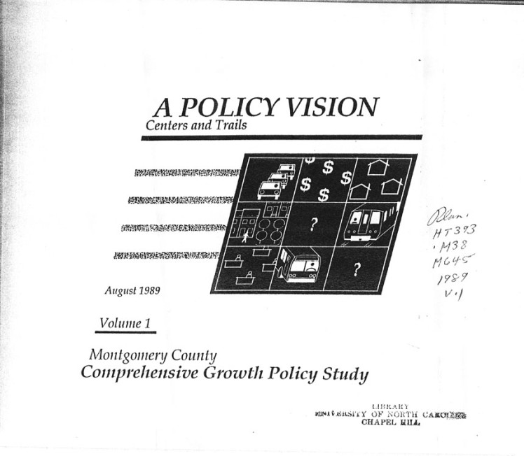 Comprehensive Growth Policy Study