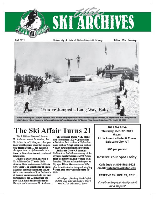 Utah Ski Archives Newsletter