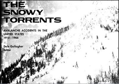 Avalanche Accidents Report