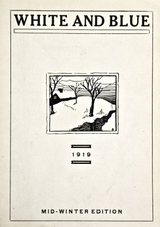 White and Blue 1919-01-15 vol. 22 no. 3