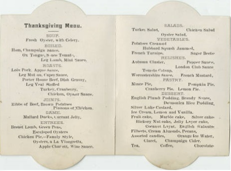 The Fountain House, menu, pages 2-3