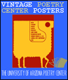 Vintage Poetry Center Poster