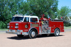 Enterprise Volunteer Fire department fire truck