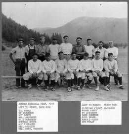 1935 Bonner baseball team