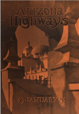 Arizona Highways, January 1931