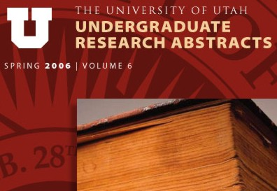 Undergraduate Research Abstracts